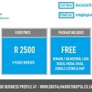 Freelance Social Media & Website Design company in Centurion, Gauteng Cell: 0642463678